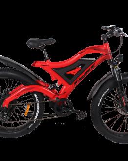 Bicicleta eléctrica de montaña FJM18 500w LED